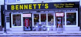 Bennett's Old Fashion Dept. Store